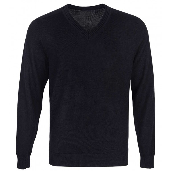 Black Plain Full Sleeve Sweater