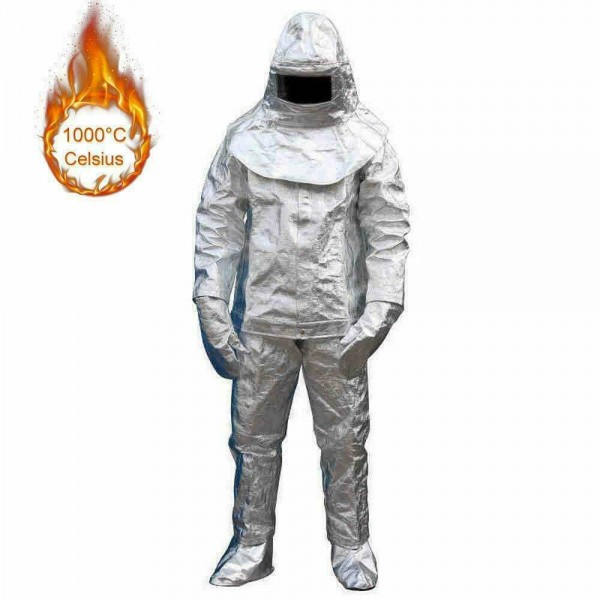 Heat Resistant Aluminized Suit