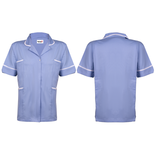 Scrub Shirt Blue 2